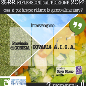 Facciamo il punto sulla Settima Europea per la Riduzione dei Rifiuti: un hangout sullo spreco alimentare