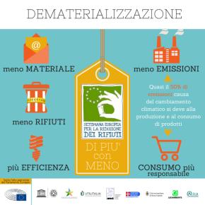 L'Italia ancora al top nella Settimana Europea per la Riduzione dei Rifiuti 2015