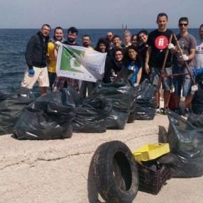 Anche Giovinazzo partecipa al Let's Clean Up Europe Day