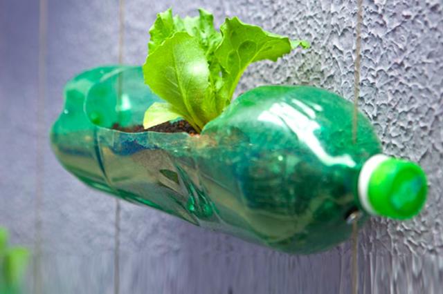 Riciclo-creativo-bottiglie-di-plastica