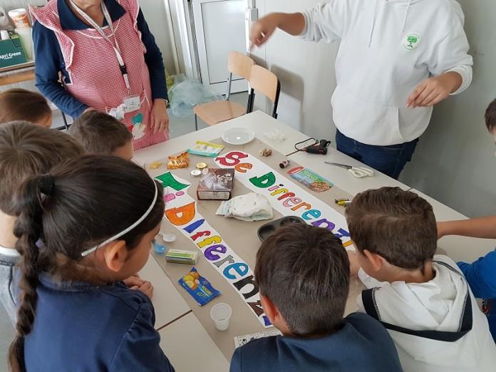 Una scuola primaria di Cerveteri nel Lazio che partecipa alla SERR2016