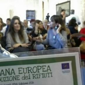 A Napoli le premiazioni italiane della Settimana Europea per la Riduzione dei Rifiuti 2016