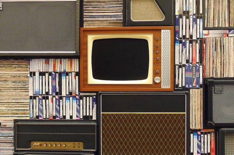 vecchie tv videocassette