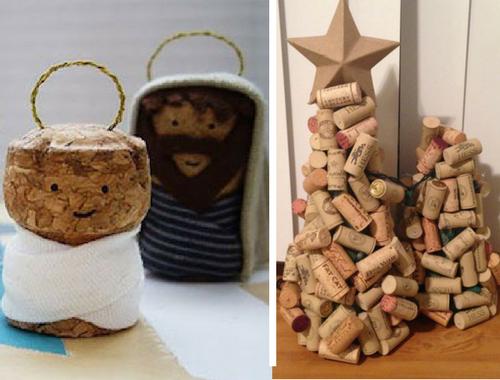 Presepe Con Bastoncini Di Legno : Natale si avvicina prepariamo albero e presepe con materiale di