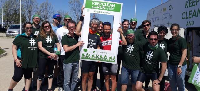 Oltre 1000 chilometri in bici contro il littering: si è conclusa a Chioggia Keep Clean and Ride 2018