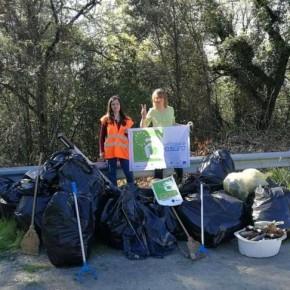 """LCUE 2018: la caccia al rifiuto di Greenbassi è un """"bottino"""" di 420 kg di rifiuti"""