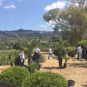 Let's Clean Europe approda ad Agrigento. La Valle dei Templi protagonista di una giornata di pulizia straordinaria