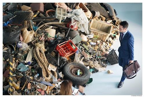 La mostra OUT TO SEA? - The Plastic Garbage Project al Museo A come Ambiente di Torino - Ph. Michele D'Ottavio