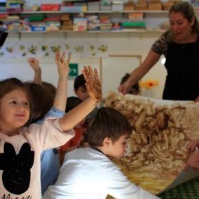 SERR 2018, i colori naturali dei bambini della scuola dell'Infanzia Italo Calvino di Pino Torinese