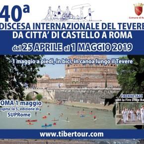 Da Città di Castello a Roma: torna la Discesa internazionale del Tevere
