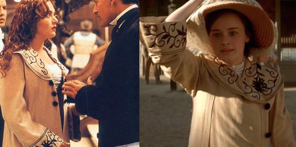 """Il cappotto di Kate Winslet in """"Titanic"""" indossato da Alexis Bledel in """"Tuck Everlasting – Vivere per sempre"""""""