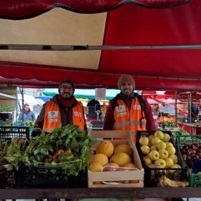 Al mercato di Porta Palazzo più organico e meno spreco alimentare con le Sentinelle dei Rifiuti