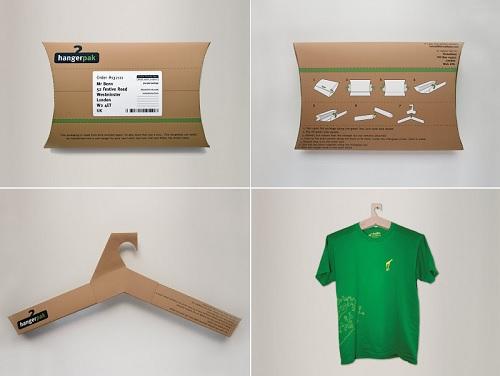Hangerpack, l'imballo si trasforma in stampella per abiti