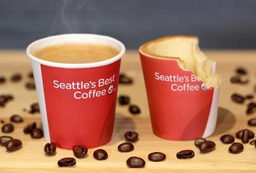 Scoff-ee cups, le tazze da caffé commestibili