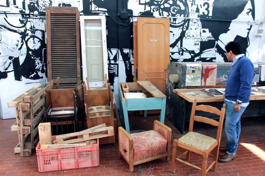 Materiali per upcycling