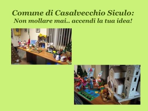 I lavoretti dei bambini delle scuole di Casalvecchio Siculo (ME)
