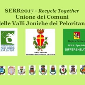 L'Unione fa la forza: il motto dei comuni siciliani delle Valli Joniche per la SERR 2017