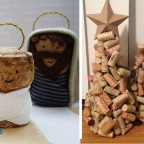 Natale si avvicina, prepariamo albero e presepe con materiale di recupero