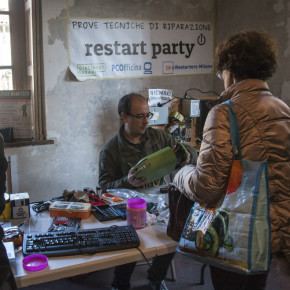 """Restart Party:  la """"festa riparatutto"""" del Mercato Circolare di Giacimenti Urbani per la SERR 2017"""