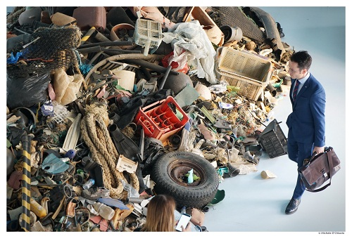 La mostra OUT TO SEA? - The Plastic Garbage Project al Museo A come Ambiente di Torino - Ph. Michele D'Ottavio