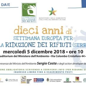 Un evento speciale al Ministero dell'Ambiente per i dieci anni di Settimana Europea per la Riduzione dei Rifiuti