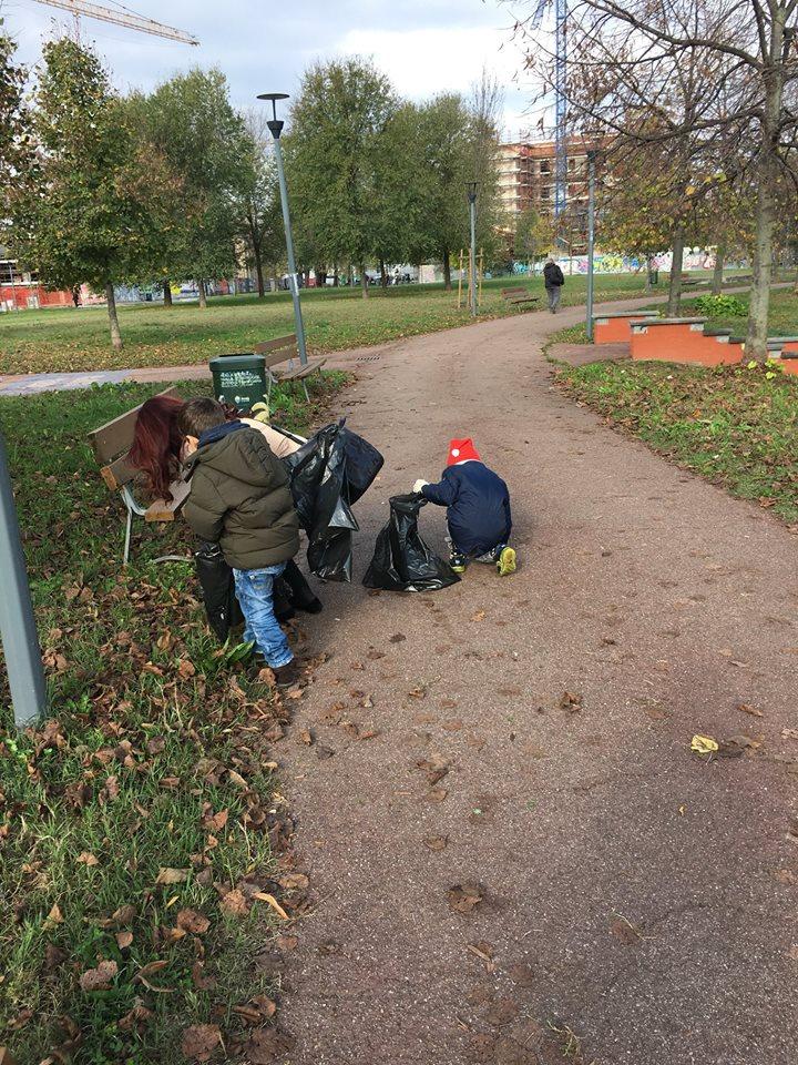 SERR 2018: Clean Walk a Milano - Ph. Credit: #1rifiutoalgiorno