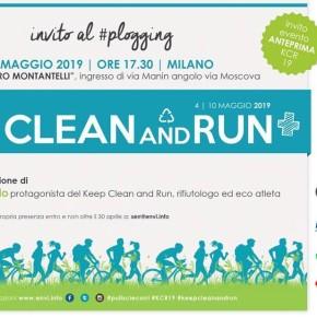 """Il 2 maggio a Milano, l'anteprima di """"Keep Clean and Run+"""" con Roberto Cavallo"""